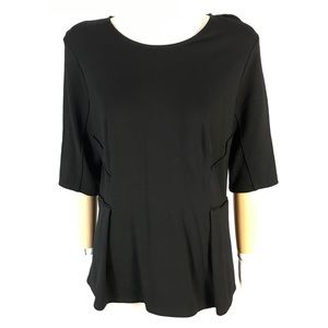 Club Monaco peplum top